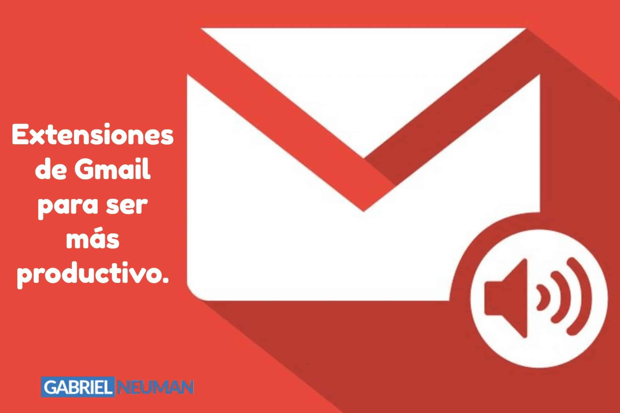 Extensiones Gmail Productivo